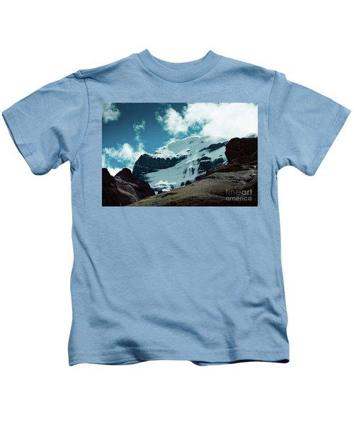 Holy Kailas West Himalayas Tibet Yantra.lv Kids T-Shirt