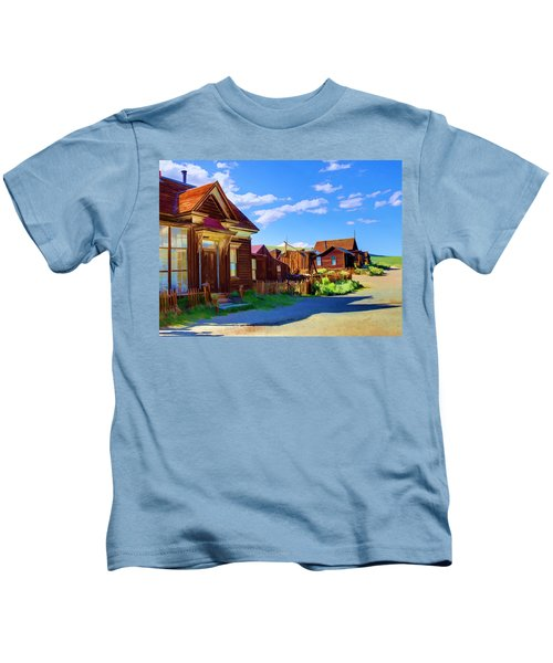 Homes Of The Past Kids T-Shirt