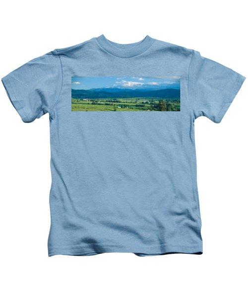 Hood River Valley And Mount Hood, Oregon Kids T-Shirt