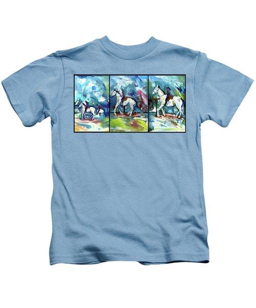 Horse Three Kids T-Shirt