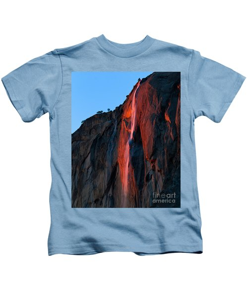 Horsetail Falls 2016 Kids T-Shirt