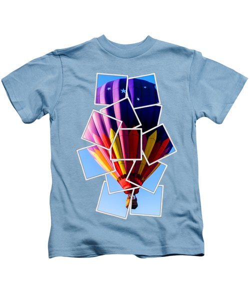 Hot Air Balloon Tee Kids T-Shirt