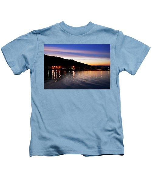 Hot Summers Night Kids T-Shirt