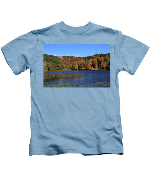 House In The Mountains Kids T-Shirt
