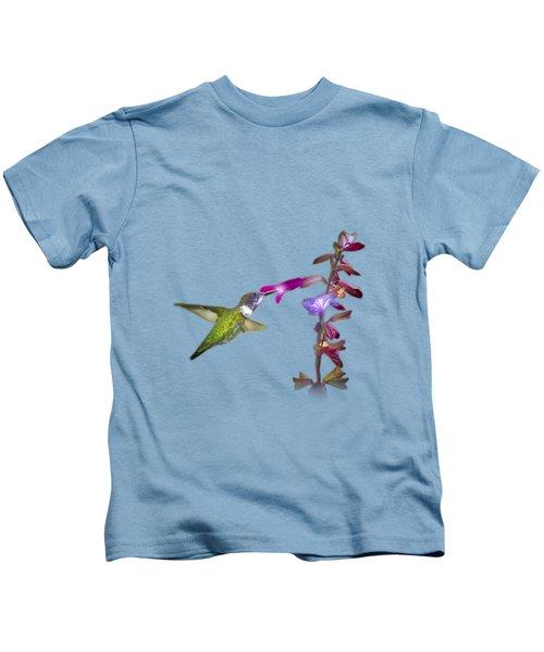 Hummingbird Design Kids T-Shirt
