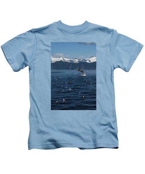 Humpback Whale Breach 3.1. Mp Kids T-Shirt