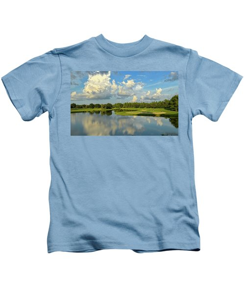 Hunter's Green Hole 18 Kids T-Shirt