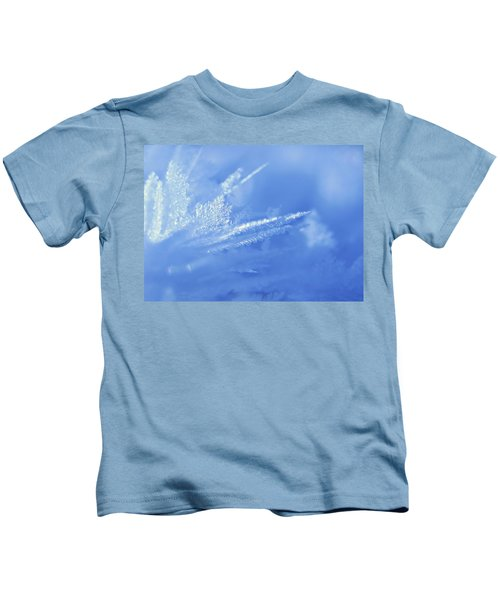 Ice Crystals Kids T-Shirt