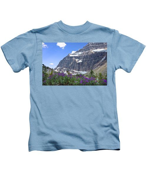 Interpretive Apps In The Canadian Rockies Kids T-Shirt