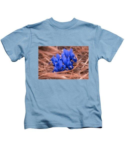 Irises Kids T-Shirt by Konstantin Sevostyanov