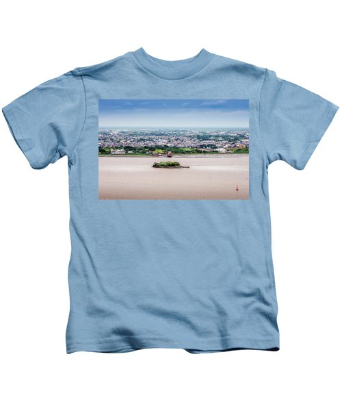 Island In The River Kids T-Shirt