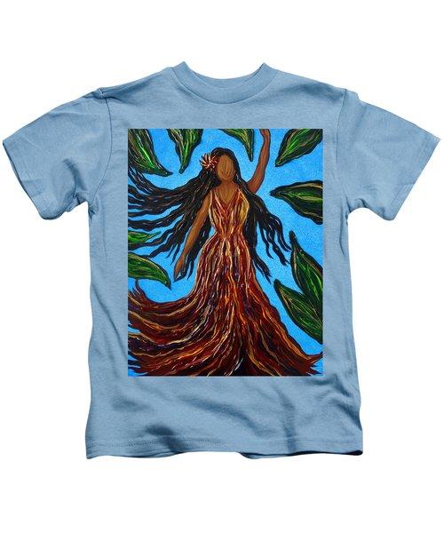 Island Woman Kids T-Shirt
