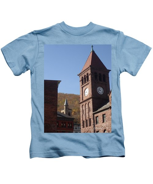 Jim Thorpe Rooftops Kids T-Shirt