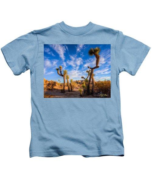 Joshua Tree Dawn Kids T-Shirt