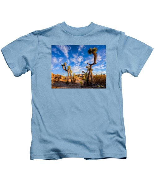 Joshua Tree Dawn Kids T-Shirt