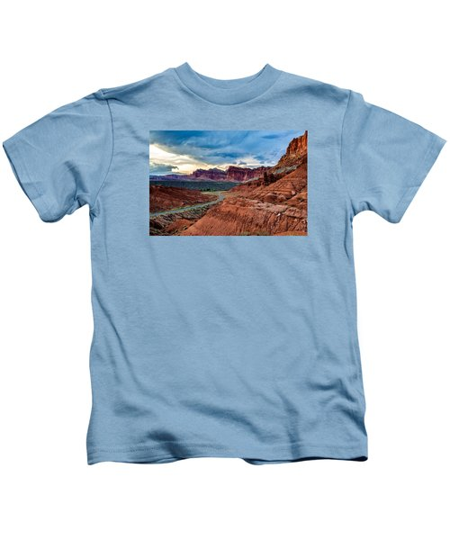 Journey Through Capitol Reef Kids T-Shirt