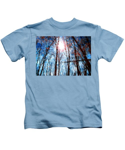 Jumbled Waters Kids T-Shirt