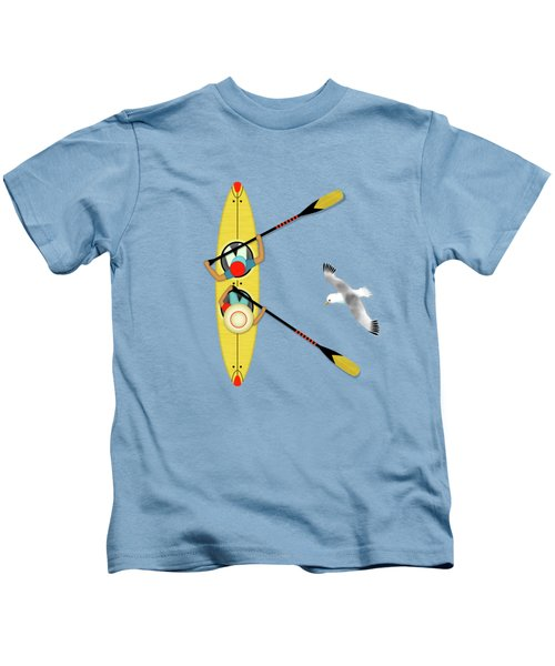 K Is For Kayak And Kittiwake Kids T-Shirt