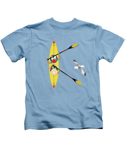 K Is For Kayak And Kittiwake Kids T-Shirt
