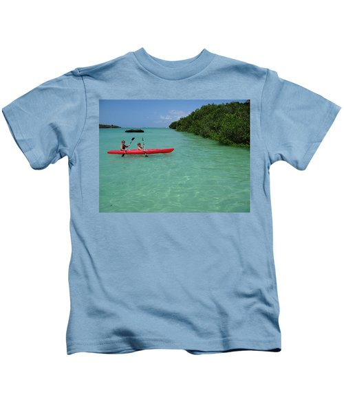 Kayaking Perfection 2 Kids T-Shirt