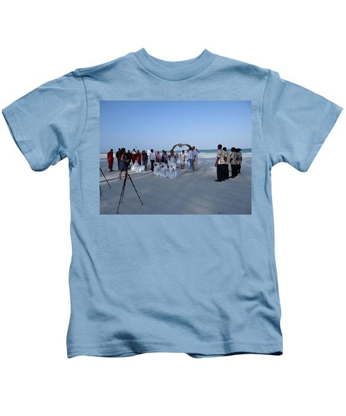 Kenya Wedding On Beach 2 With Maasai Kids T-Shirt
