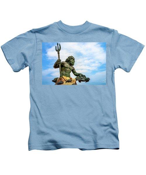 King Neptune Kids T-Shirt