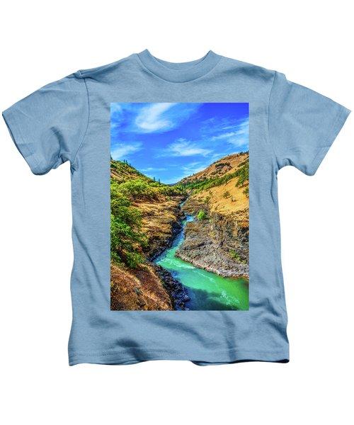 Klickitat River Canyon Kids T-Shirt
