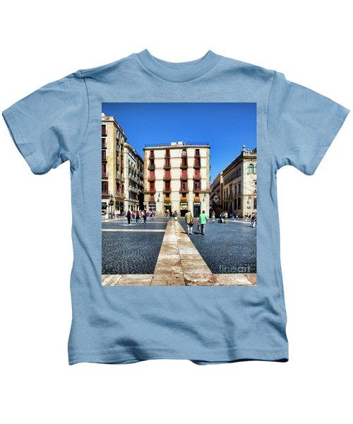 La Rambia Barcelona Spain  Kids T-Shirt