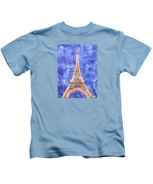 La Tour Eiffel Kids T-Shirt