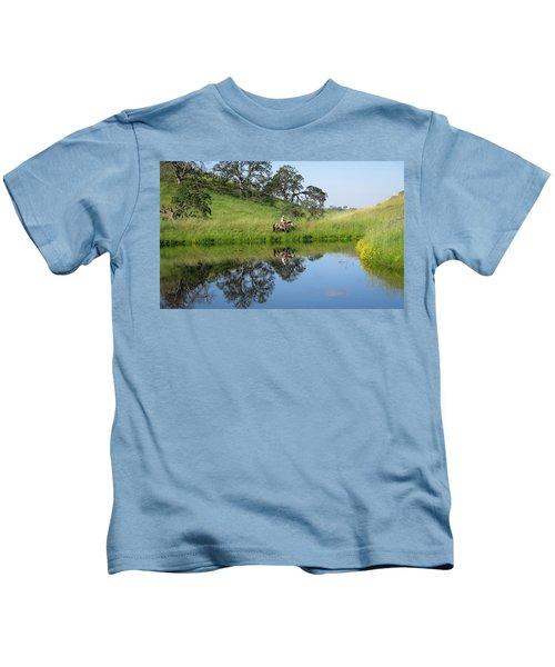 Lake Front Property Kids T-Shirt