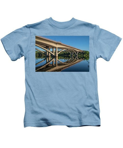 Lake Natoma Crossing Kids T-Shirt