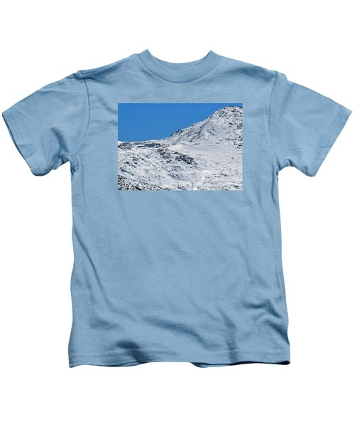 Lakes Of The Clouds Hut And Mount Monroe Kids T-Shirt