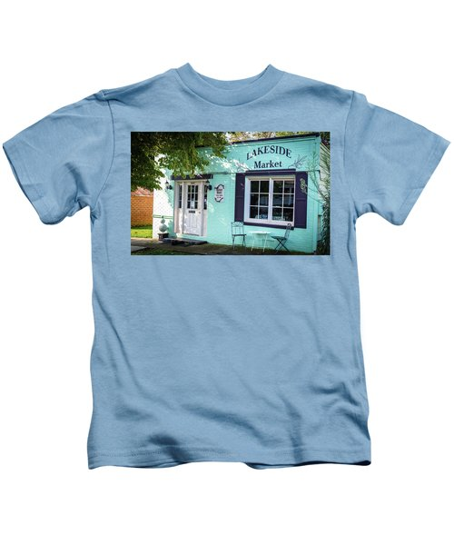 Lakeside Market Kids T-Shirt