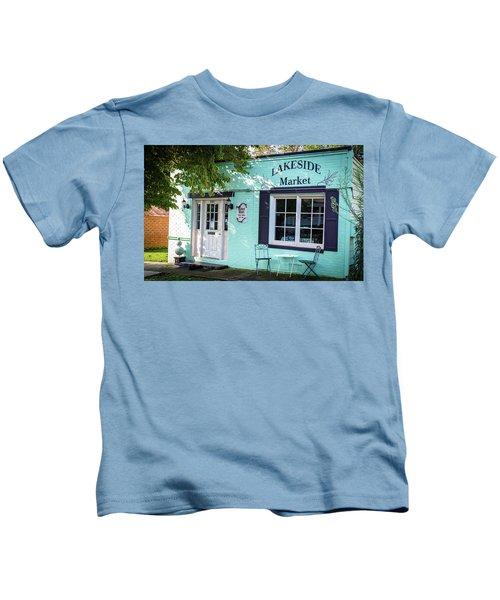 Lakeside Market Kids T-Shirt