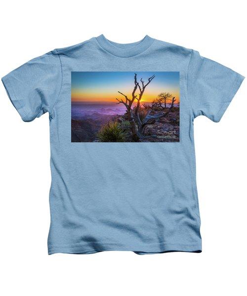 Last Light On The South Rim Kids T-Shirt