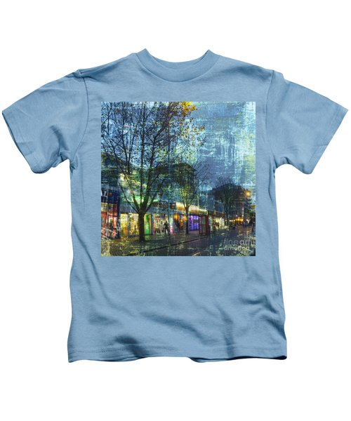 Late Afternoon In Autumn Kids T-Shirt