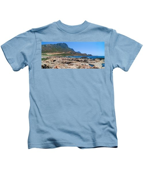 Lava Rocks Of Balos Kids T-Shirt