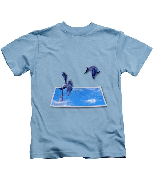 Leaping Dolphins Kids T-Shirt