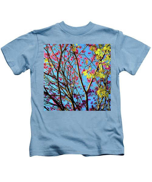 Leaves And Trees 980 Kids T-Shirt