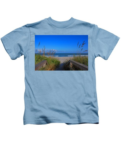 Lets Go To The Beach Kids T-Shirt