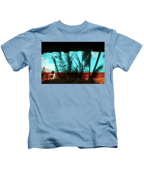 Light And Shadows Kids T-Shirt