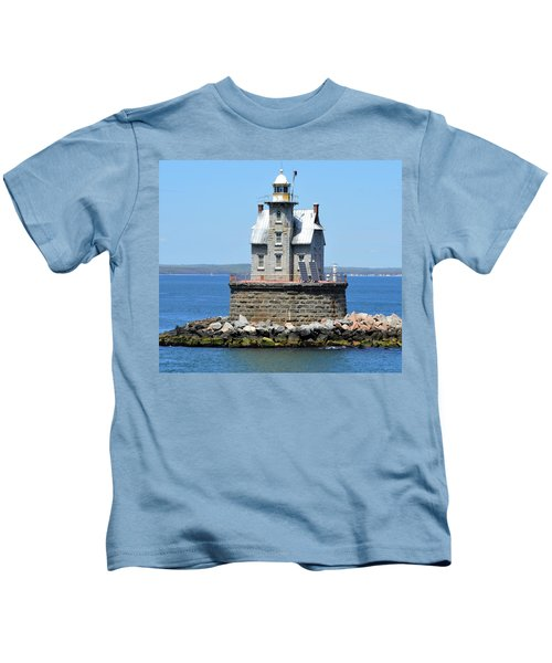 Lighthouse 2-c Kids T-Shirt