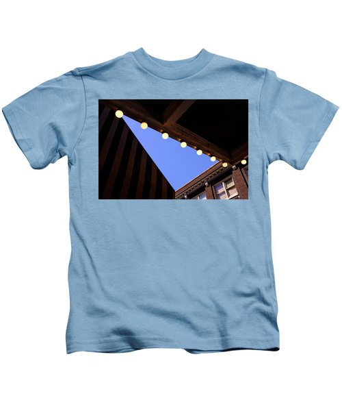 Lights Roofs And Triangles In Frederick Maryland Kids T-Shirt