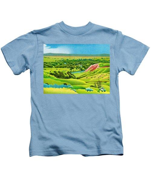 Little Bighorn Valley Kids T-Shirt