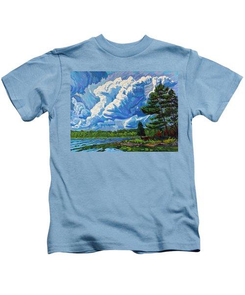 Looks Like Thunder Kids T-Shirt