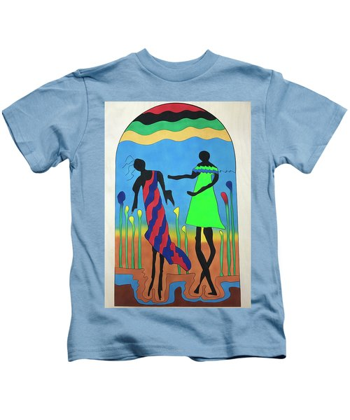 Love In The Reeds Kids T-Shirt