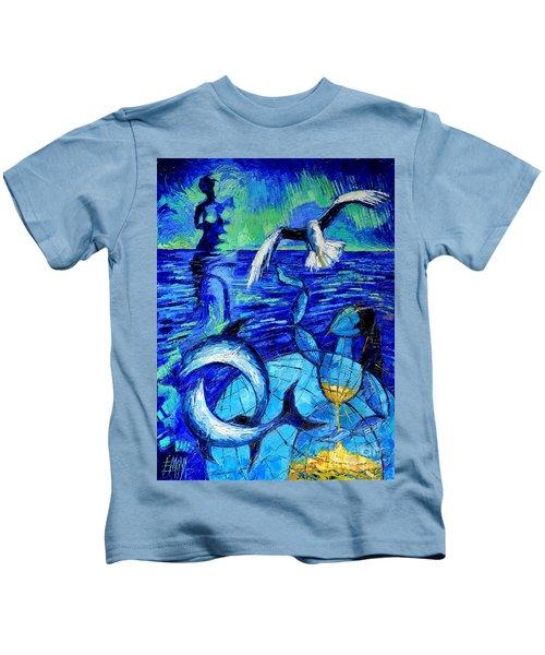 Majestic Bleu Kids T-Shirt