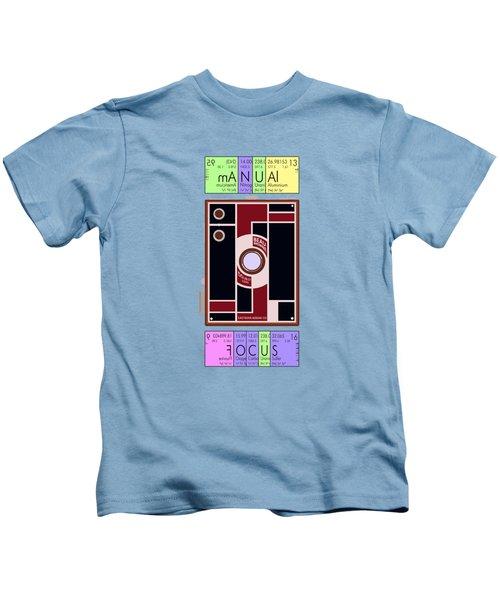Manual Focus Kids T-Shirt