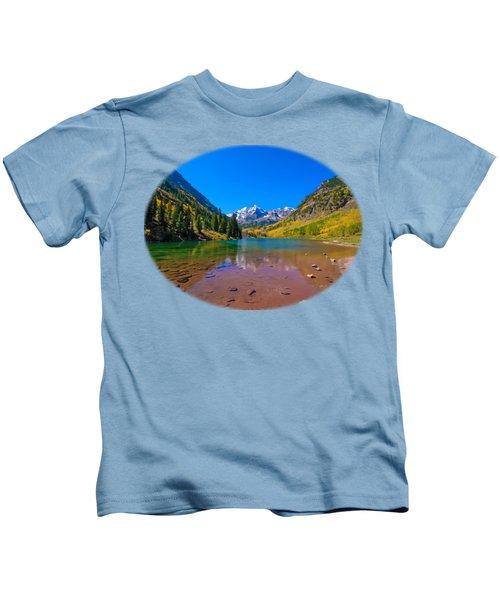 Maroon Bells Kids T-Shirt
