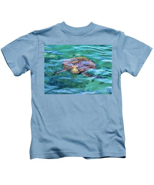 Maui Sea Turtle Kids T-Shirt